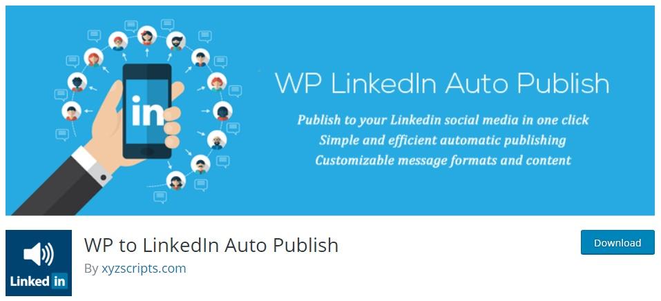Plugins de LinkedIn para WordPress