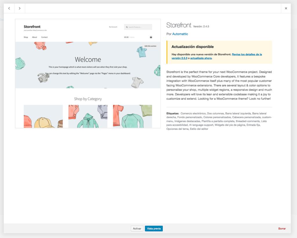 Elimina fácilmente un tema de WordPress