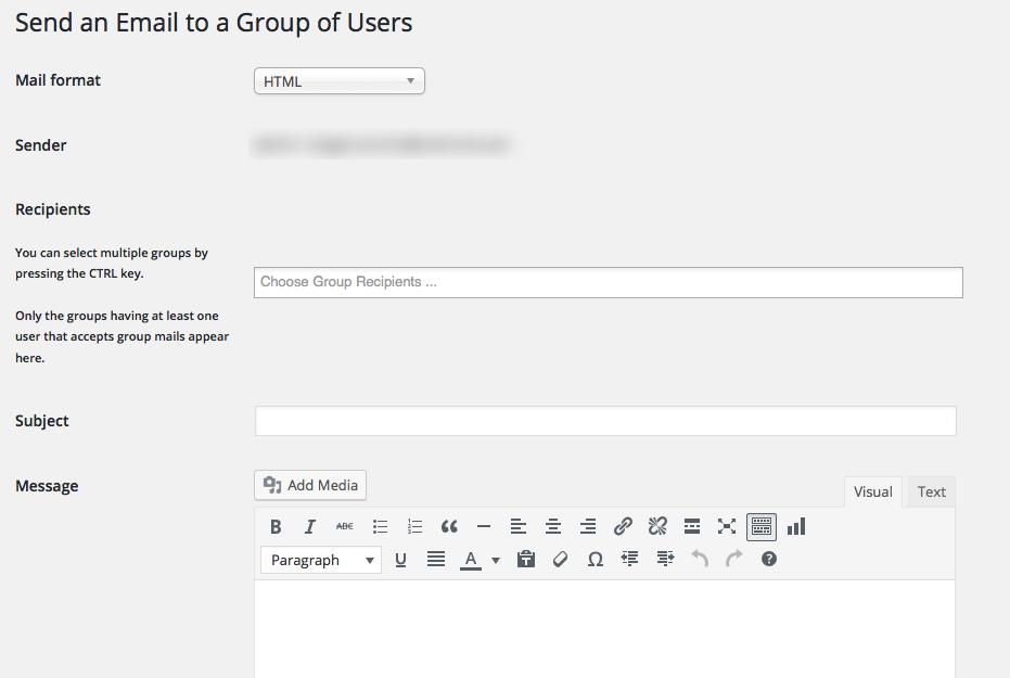 Cómo enviar correo a todos los usuarios en WordPress