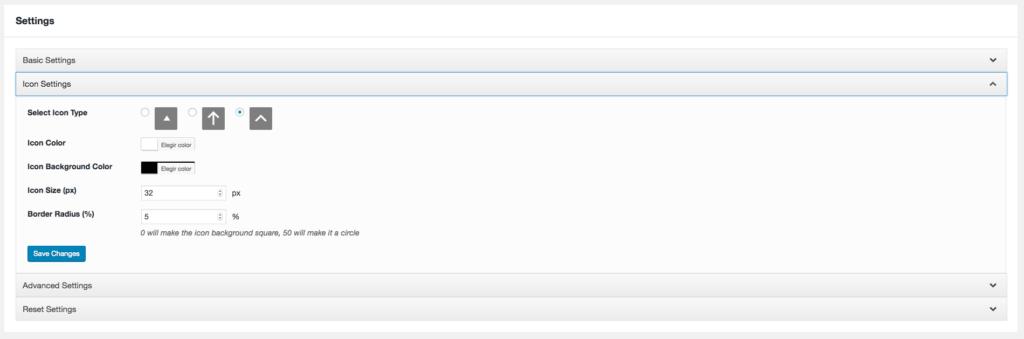 Coloca un botón para hacer scroll hasta arriba en WordPress