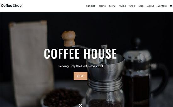 Selecciona el tema ideal de WordPress para una cafetería