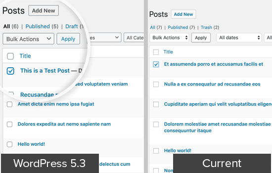 Lo nuevo que nos trae WordPress 5.3