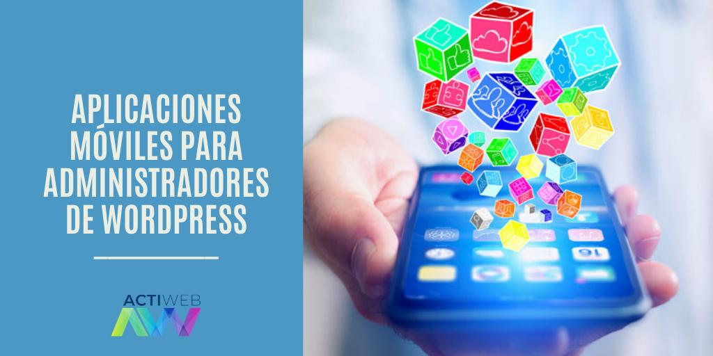 Aplicaciones móviles para administradores de WordPress
